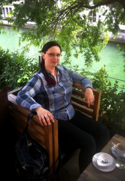 Teja Klobčar. Foto: Monika Klobčar